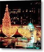 Crown Center Christmas - Kansas City-1 Metal Print