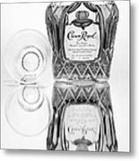 Crown Royal Black And White Metal Print