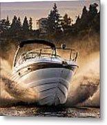 Crownline Boat Metal Print