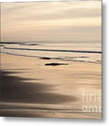 Croyde At Dusk Metal Print