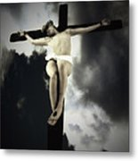 Crucified Christ Metal Print