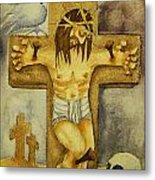 Crucifixion Metal Print