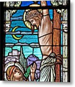 Crucifixion Of Christ Metal Print by Mountain Dreams