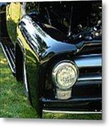 Cruise-in Car Show II Metal Print