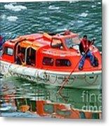 Cruise Ship Tender Boat  Metal Print