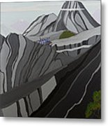 Cruisin' The Andes Metal Print