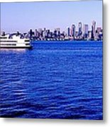 Cruising Elliott Bay Metal Print