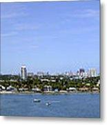 Cruising Fort Lauderdale Metal Print