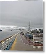Cruising In The Fog 3 Metal Print