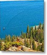 Cruising Jenny Lake Metal Print