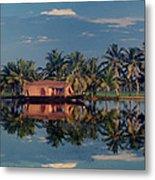 Cruising The Backwaters.. Metal Print