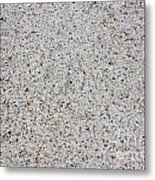 Crushed Shell Sidewalk Metal Print
