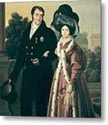 Cruz Y Rios, Luis De La  1776-1853 Metal Print