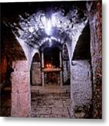 Crypt Of Church Of Holy Sepulchre Metal Print