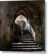 Crypt Of The Martyr San Marciano In Syracuse Metal Print