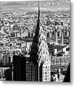 Crysler Building In New York City Metal Print