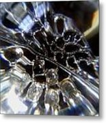 Crystal Ball Metal Print by Jaime Neo