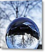 Crystal Ball Project 59 Metal Print