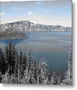 Crystal Clear Day Metal Print
