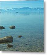 Crystal Clear Lake Tahoe Metal Print