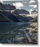 Crystal Clear Mountain Lake Metal Print