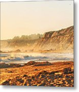 Crystal Cove At Sunset 1 Metal Print