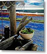 Crystal Cove Laguna Beach Metal Print