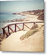 Crystal Cove Overlook Picture Metal Print by Paul Velgos
