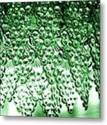 Crystal Green Metal Print