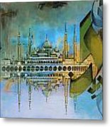 Crystal Mosque Metal Print