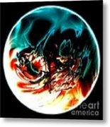 Crystal Planet Metal Print by Bernard MICHEL
