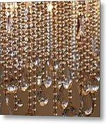 Crystal Rain 2 Metal Print