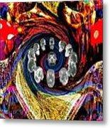 Crystal Skulls Metal Print by Jason Saunders