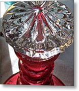 Crystal Stopper Metal Print