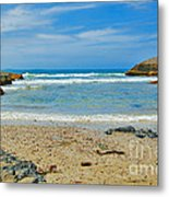 Crystal Waters - Port Macquarie Beach Metal Print