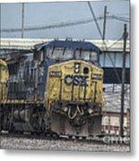 Csx 7745 Engine 01 Metal Print