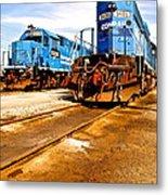 Csx Railroad Metal Print