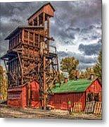 Coal Tipple Metal Print