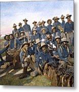 Cuba - Tenth Cavalry 1898 Metal Print