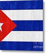 Cuba Flag Metal Print