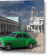 Cuba Green  Metal Print