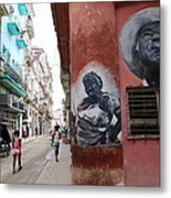 Cuban Street Art 3 Metal Print