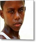 Cuban Youngster Metal Print by Arie Arik Chen