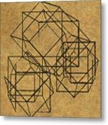 Cubed II Metal Print