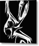 Cubism Love Metal Print