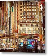 Grand Central And 42nd St Metal Print