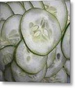 Cucumber Metal Print