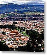 Cuenca And Turi Panorama Metal Print