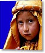 Cuenca Kids 315 Metal Print