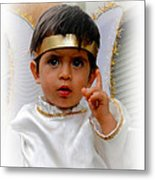 Cuenca Kids 332 Metal Print by Al Bourassa